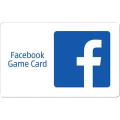 Facebook Game Card